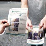Création de flyers pour le Crédit Agricole
